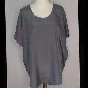Tommy Bahama 100% silk blouse XL